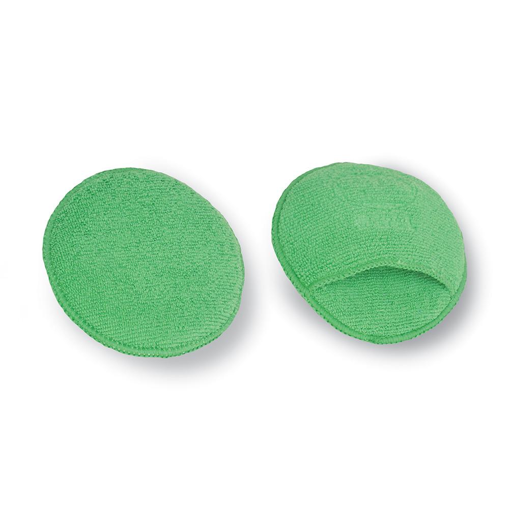 BOLL applicator for polishing pastes and waxes