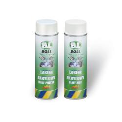 BOLL lakier akrylowy biały rally - spray