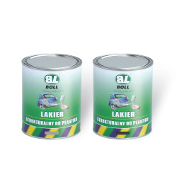 BOLL structure lacquer for plastic