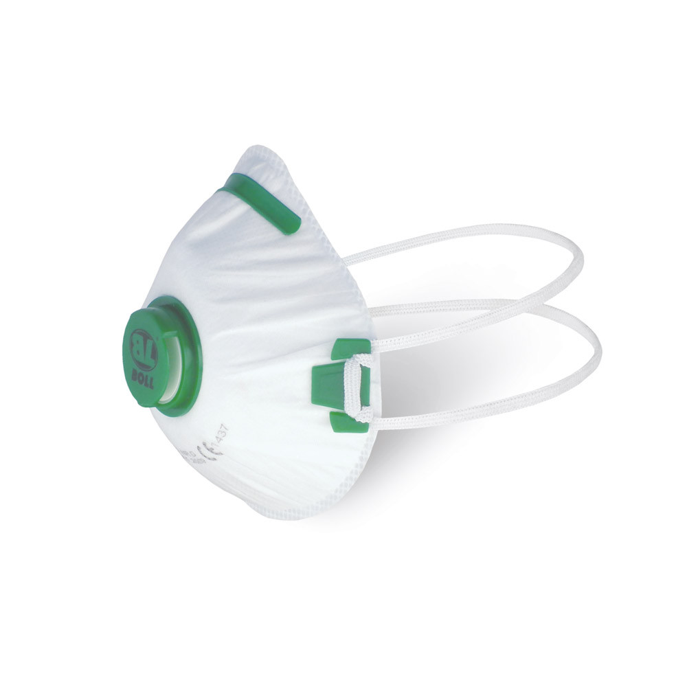 BOLL dust mask with valve FFP1