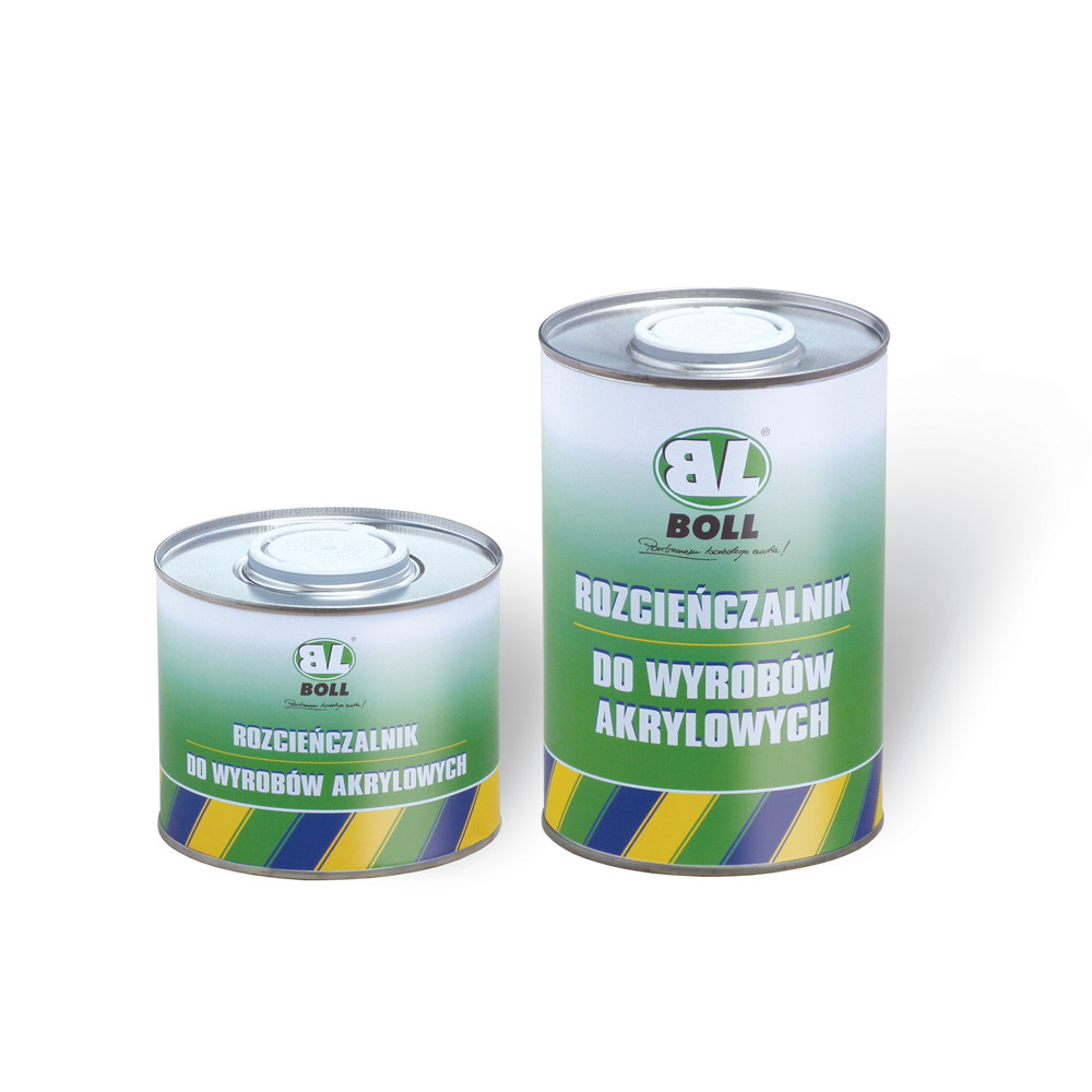 BOLL thinner for acrylic products