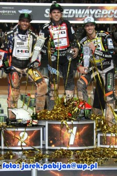 Niels Kristian Iversen took third place in the Grand Prix of Sweden