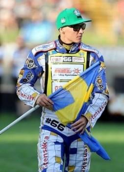 Fredrik Lindgren am vierten Platz in der Grand Prix von Neuseeland