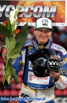Fredrik Lindgren third in the Grand Prix of Finland