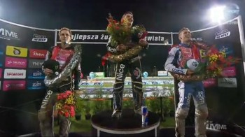 Martin Vaculik third in IMME