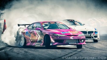 Results of the second round of Polish Drifting Championship on the track Kielce