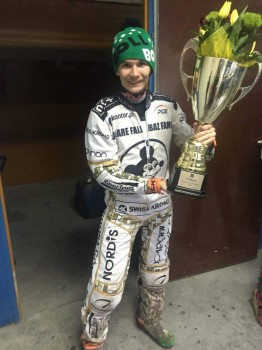 Golden Helmet for Patrick Dudek
